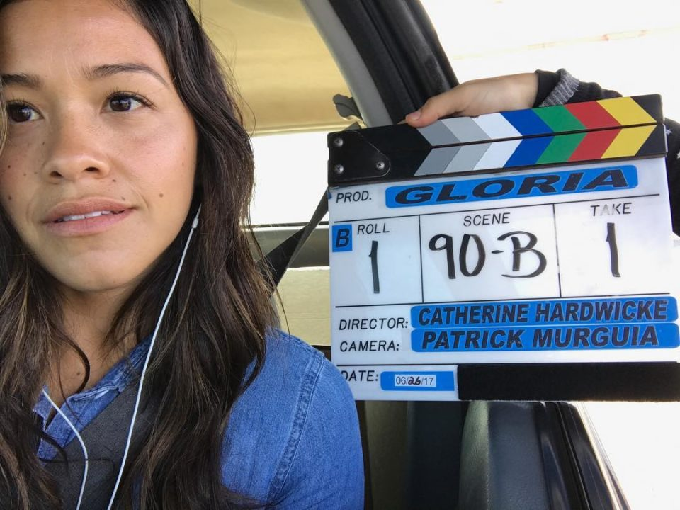 Gina Rodriguez Promotes Diary Of A Future President